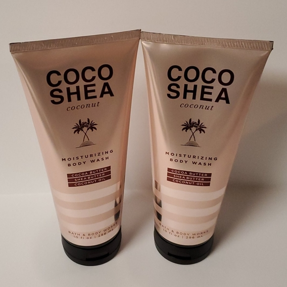 Bath and Body Works Cocoa Shea Coconut Bundle
